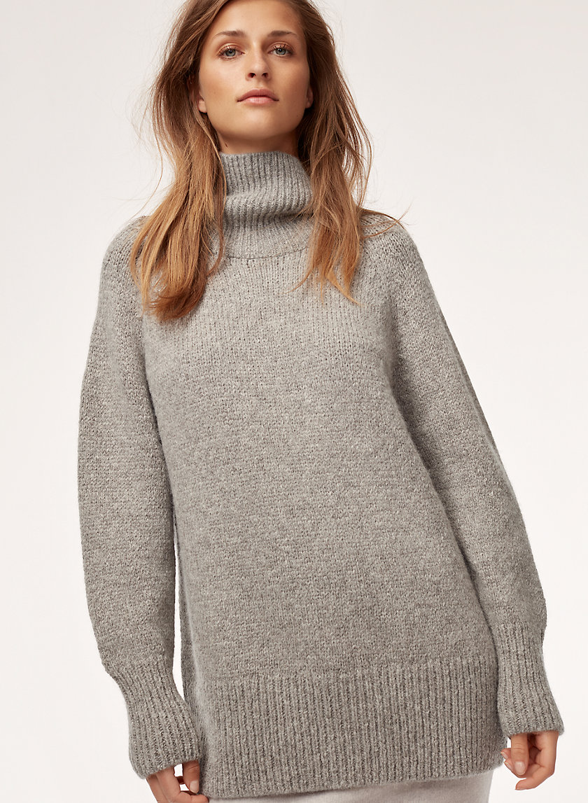 ELMIRA SWEATER - Oversized turtleneck sweater