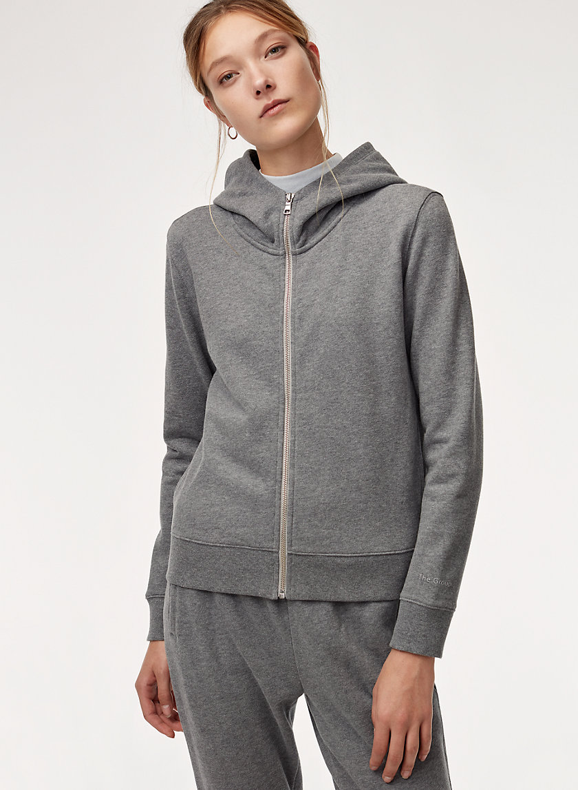The Group by Babaton CATE ZIP HOODIE | Aritzia