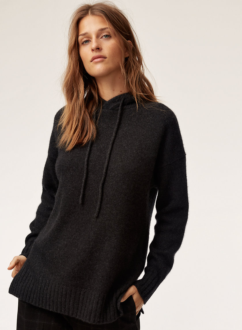 The Group by Babaton CASHMERE HOODIE LONG | Aritzia