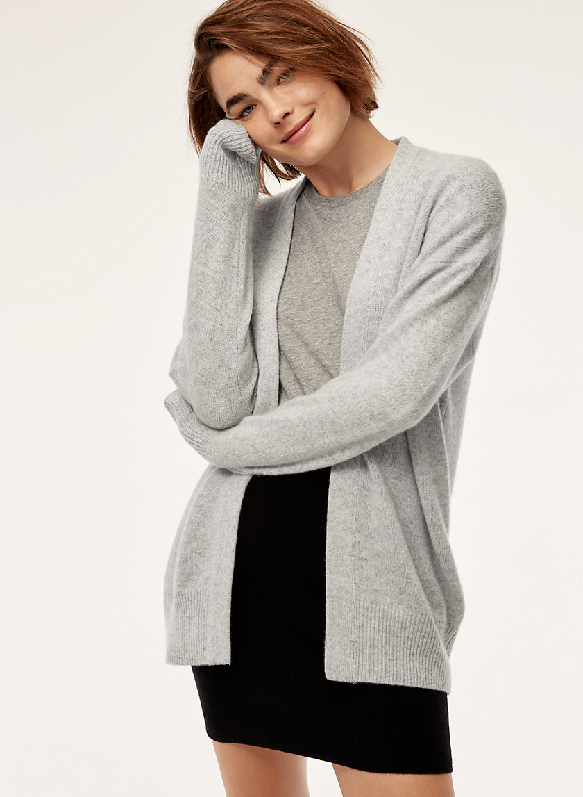 The Group by Babaton LUXE CASHMERE CARDIGAN | Aritzia
