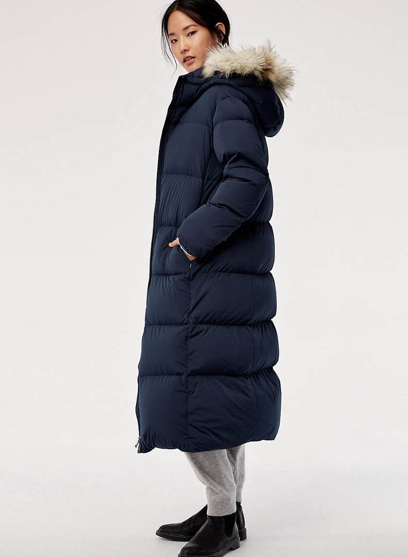 The Group by Babaton PARK CITY PUFFER-LONG | Aritzia