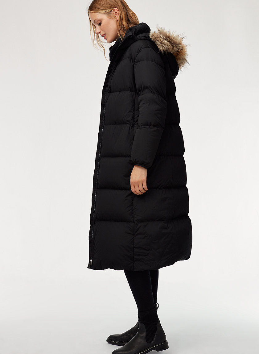 The Group by Babaton PARK CITY PUFFER-LONG   Aritzia
