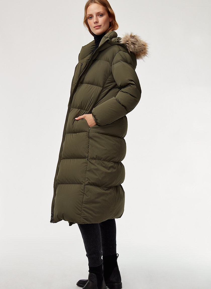 The Group by Babaton PARK CITY LONG PUFFER | Aritzia