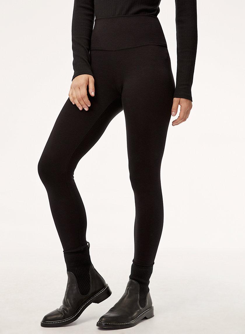 ICON PANT - High-waisted, fleece legging pant