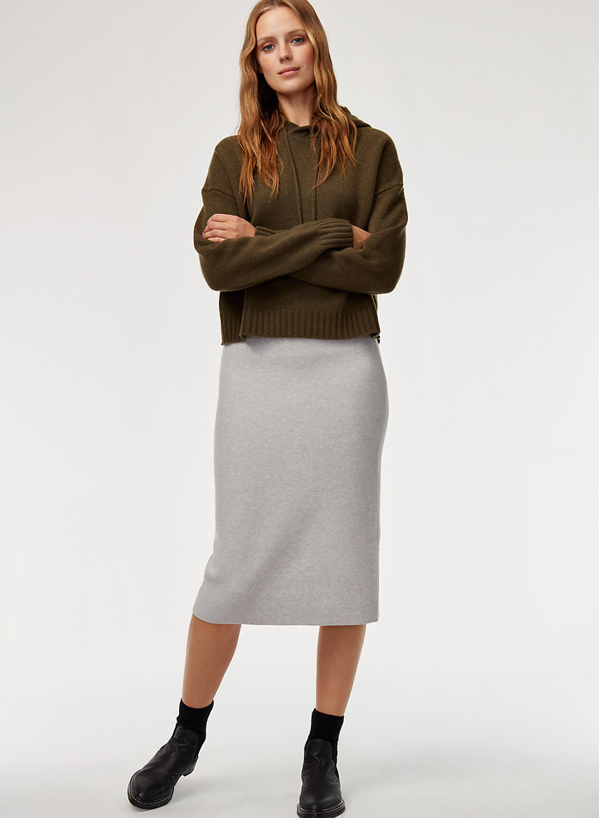 JOHAN SKIRT - Wool-blend pencil skirt
