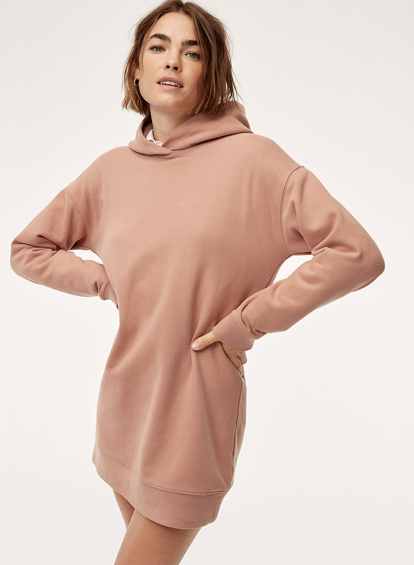 LIZ DRESS - Oversized hoodie dress