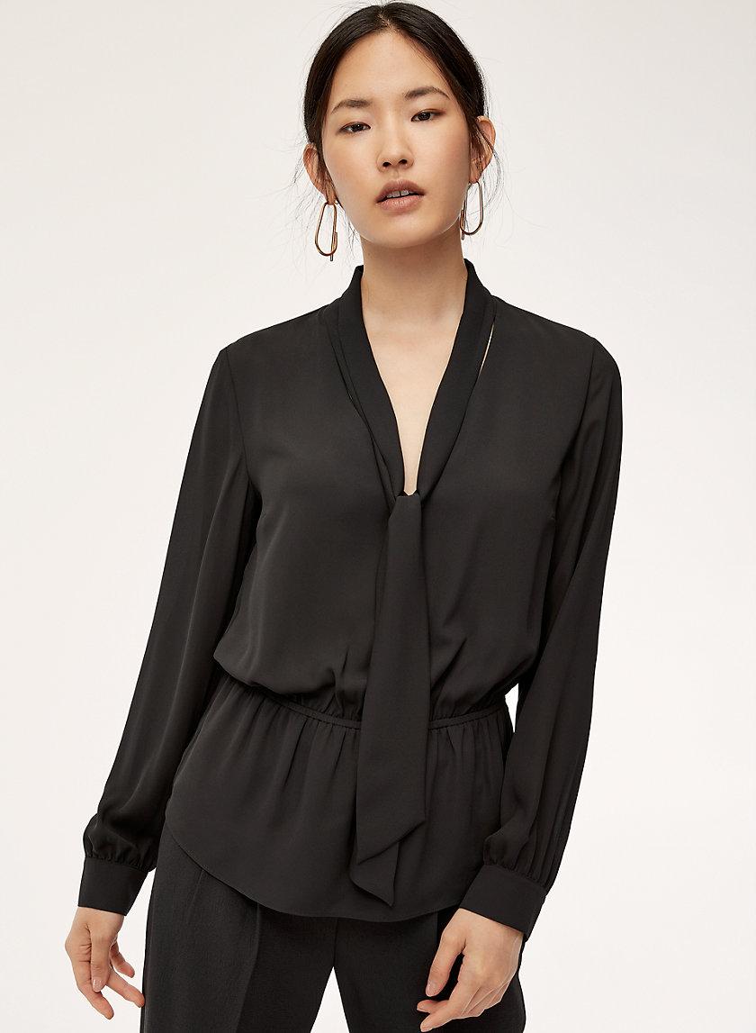 LUCAS BLOUSE - Tie-neck blouse