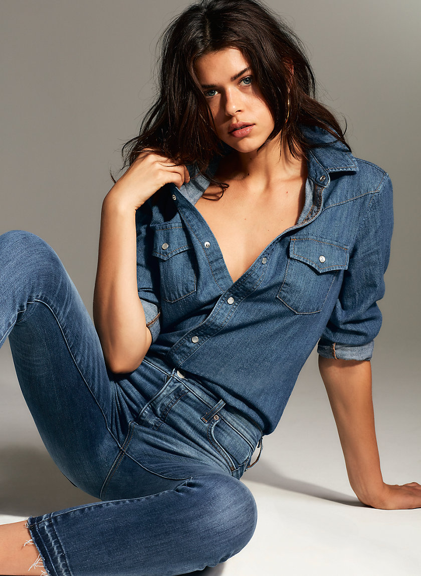 Denim Forum THE NIAH WESTERN | Aritzia
