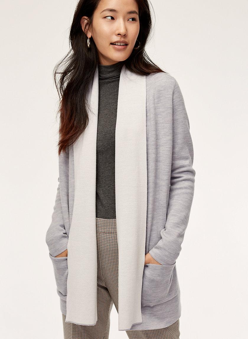 BEEKMAN SWEATER - Merino-wool-blend cardigan