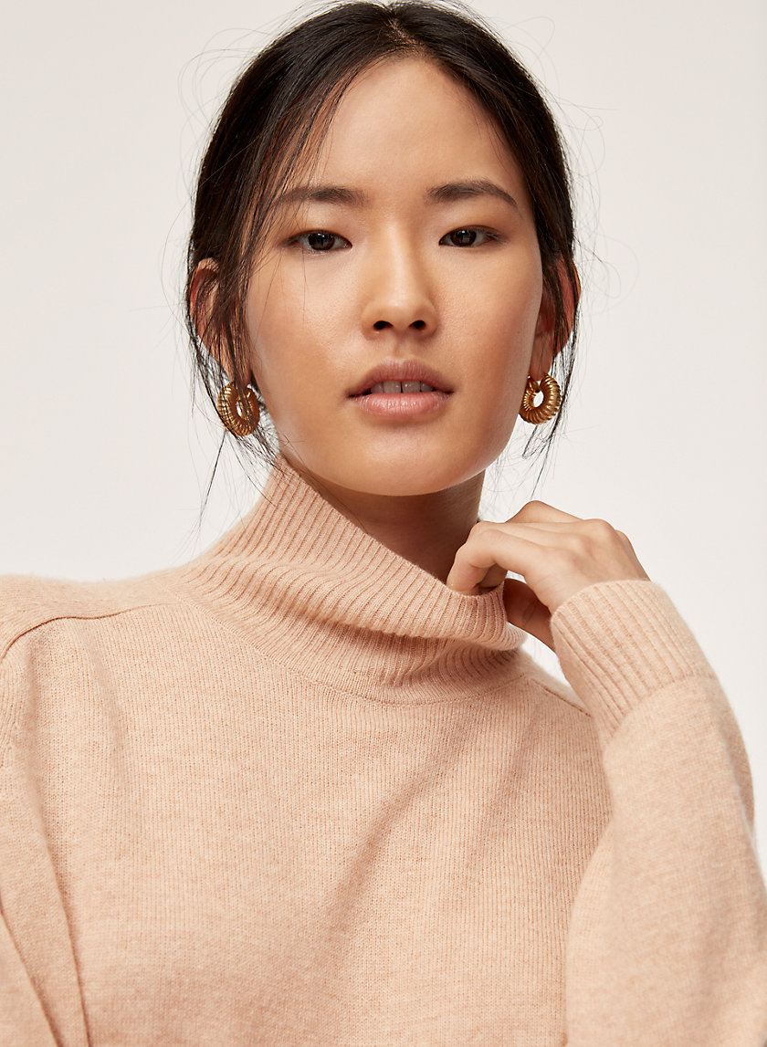 PERRY TURTLENECK - Cashmere-blend turtleneck sweater