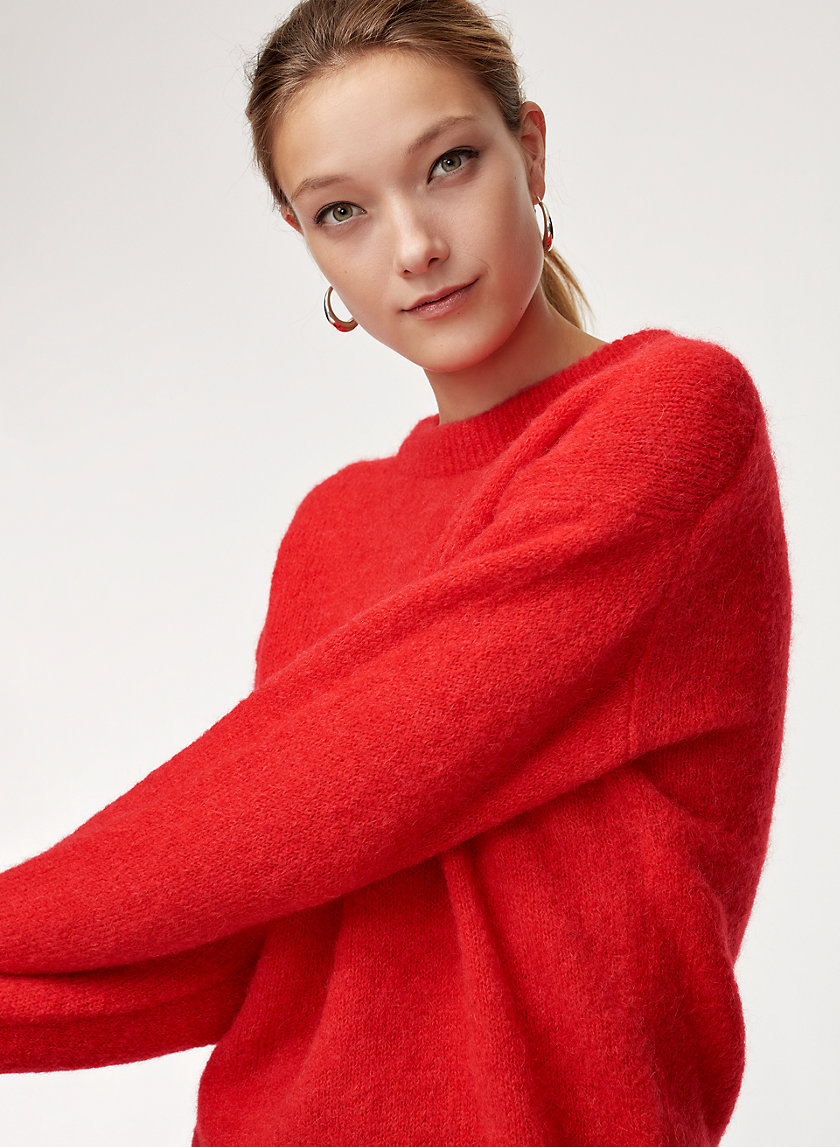 CALVIN SWEATER - Knitted crewneck sweater