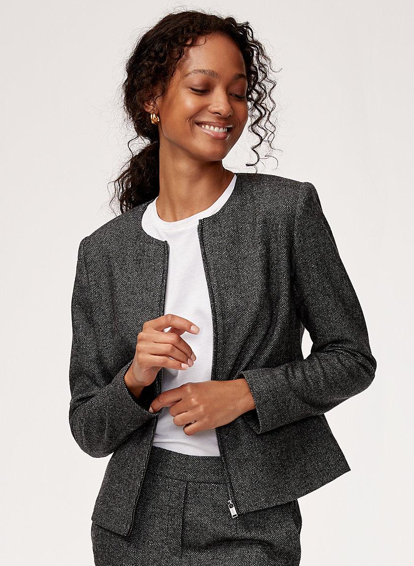 BOWMAN JACKET - Tailored, zip-up wool jacket