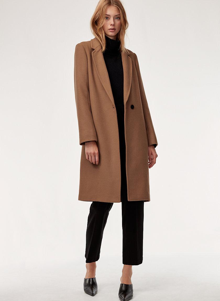 STEDMAN WOOL COAT - Mid-length, wool blend coat