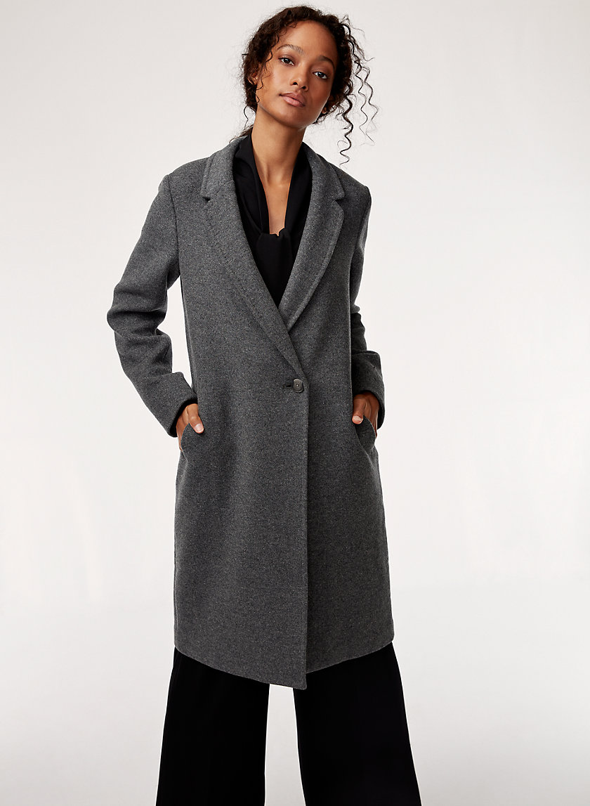 STEDMAN WOOL COAT - Mid-length, wool blend coat
