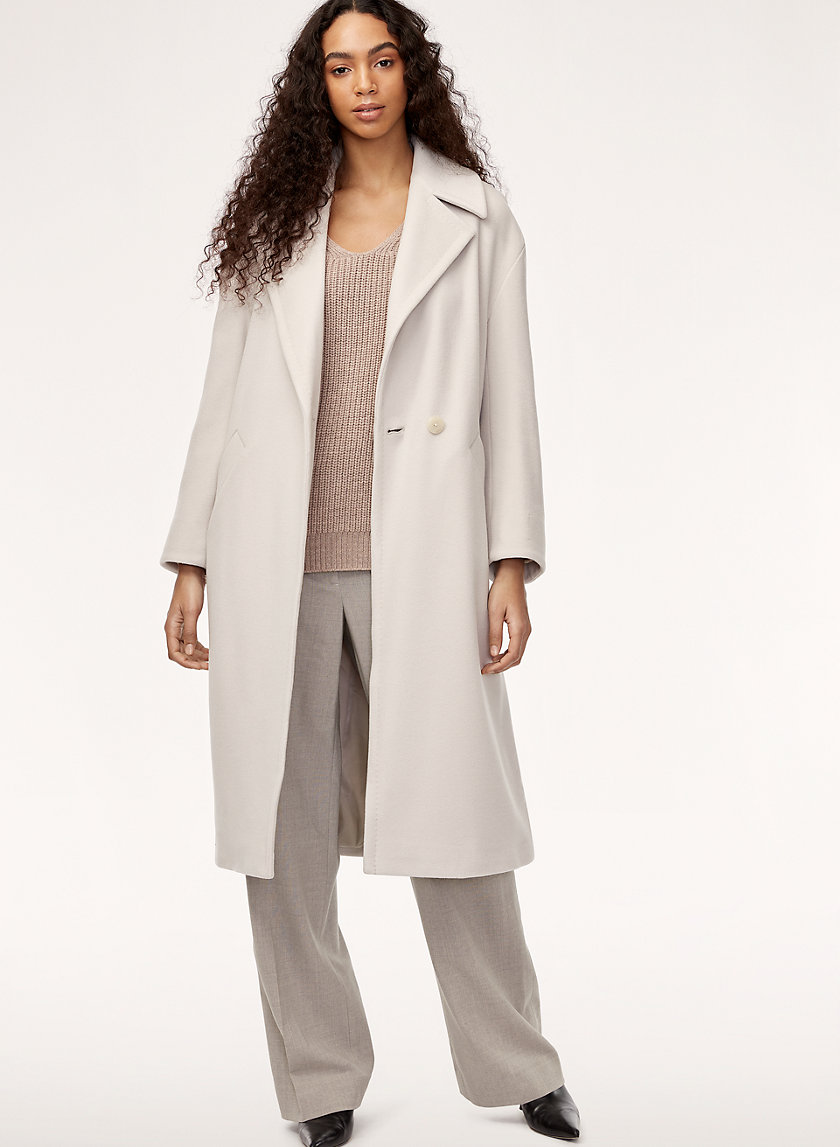 CAROLEE COAT - Relaxed, wool blazer coat