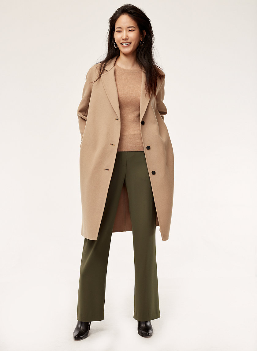 RAY PANT - Tailored, wide-leg dress pant