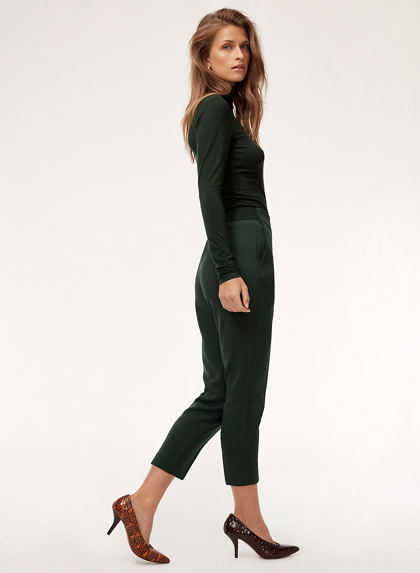 JAMES PANT - Cropped, high-waisted pant