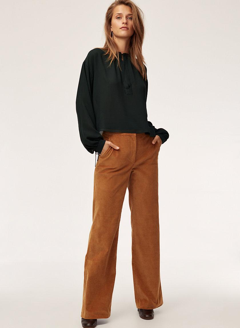 COLE PANT - Straight-leg corduroy pant