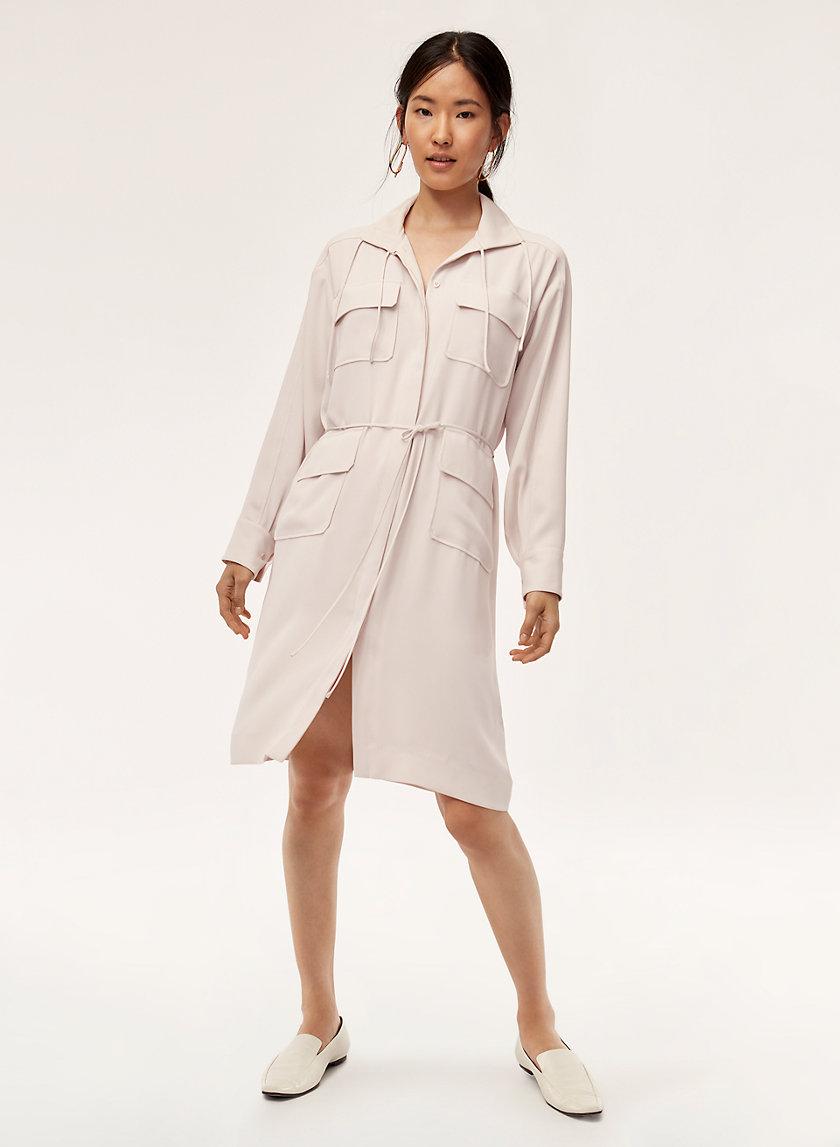 HOWITT DRESS - Utilitarian dress with pockets
