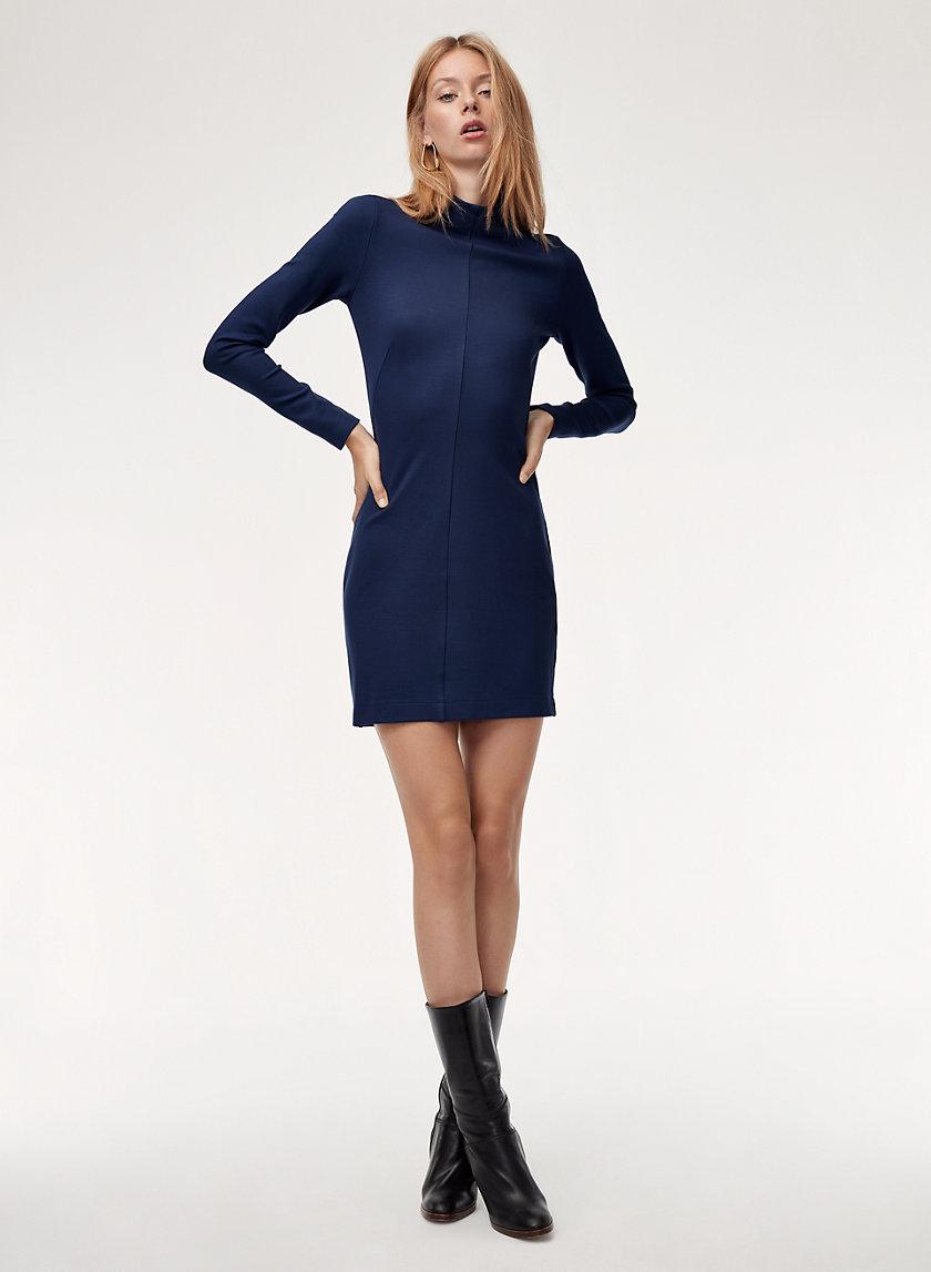 ZACHARY DRESS - Long-sleeve bodycon dress