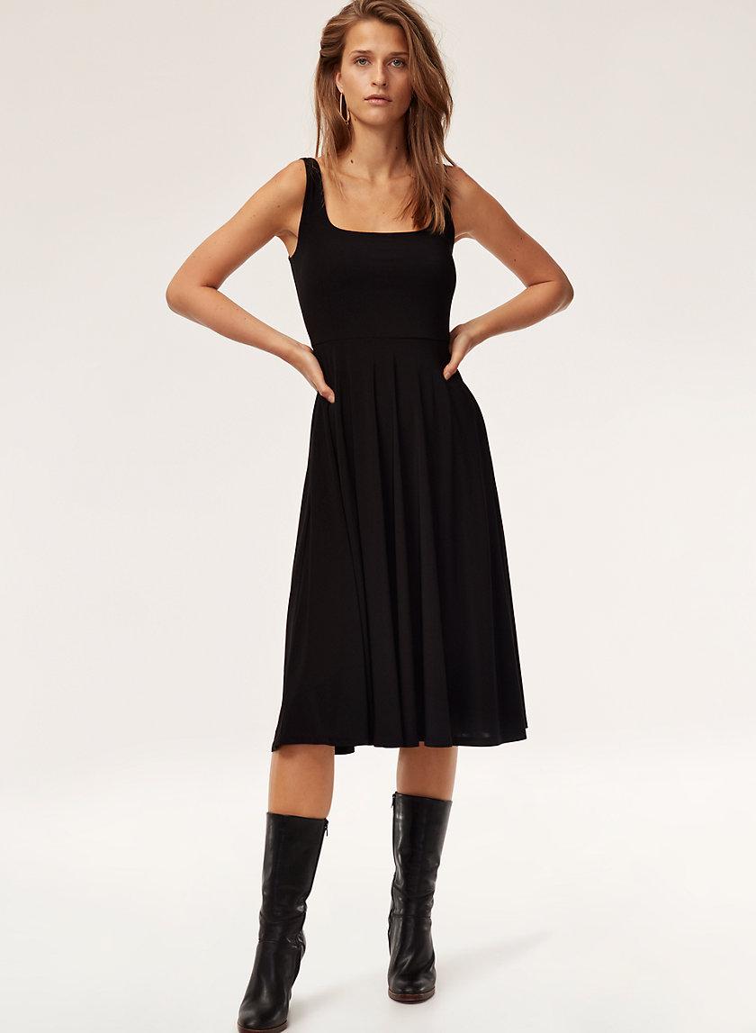 JASON DRESS - Jersey, tank midi dress