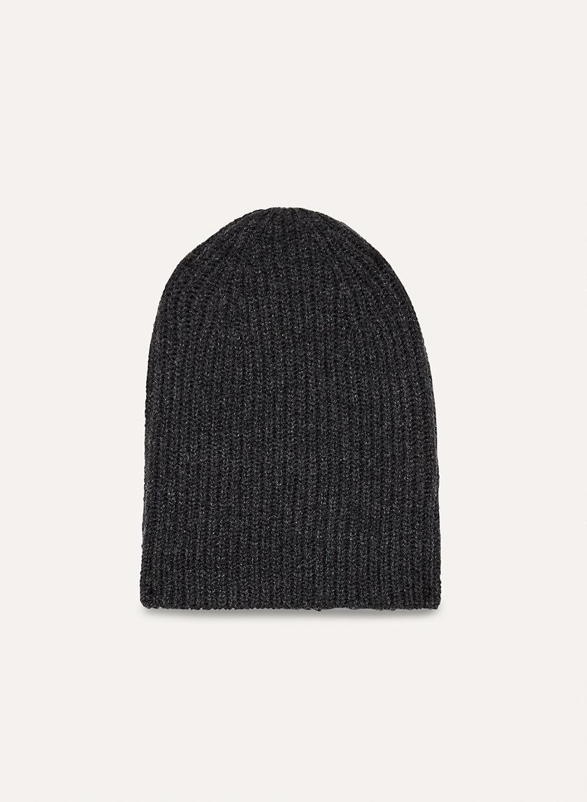 ROWAN BEANIE - Ribbed, knit beanie