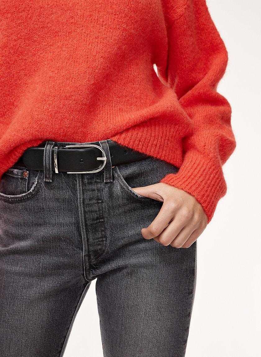 ANDRE DRESS BELT - Leather dress belt