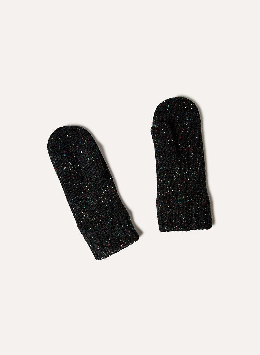 LOLO MITTEN - Fleece-lined, knit mittens