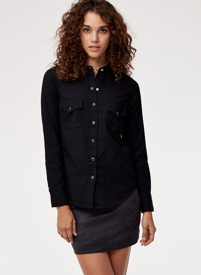 WESTERN SHIRT - Button-down western-style shirt