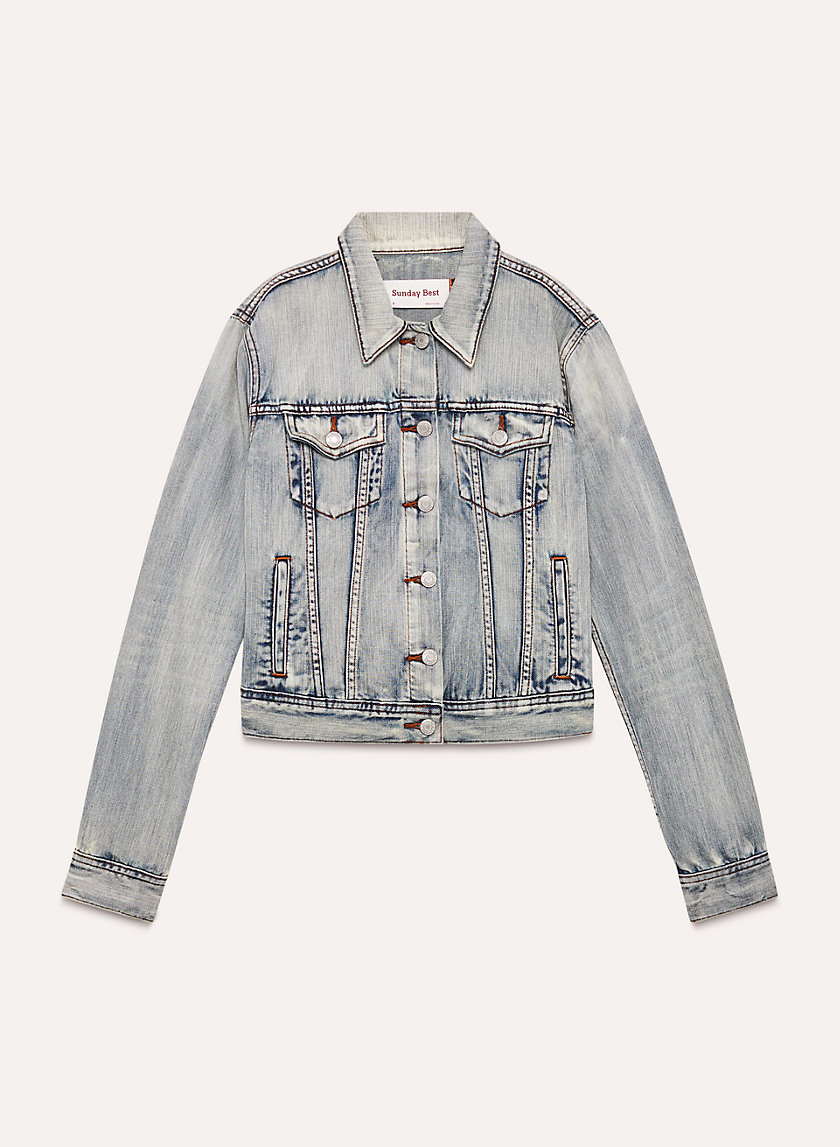 EDO JACKET - Cropped denim jacket