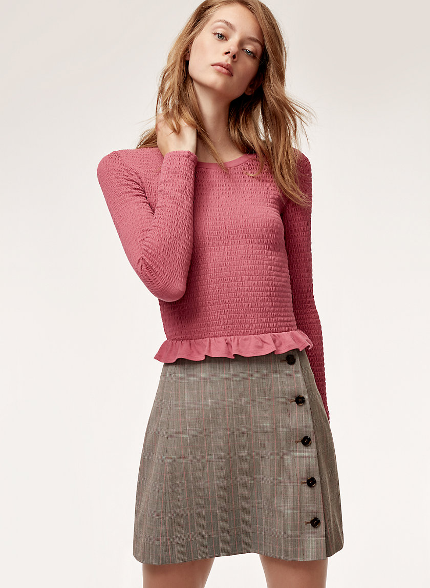 Sunday Best YURI SKIRT | Aritzia