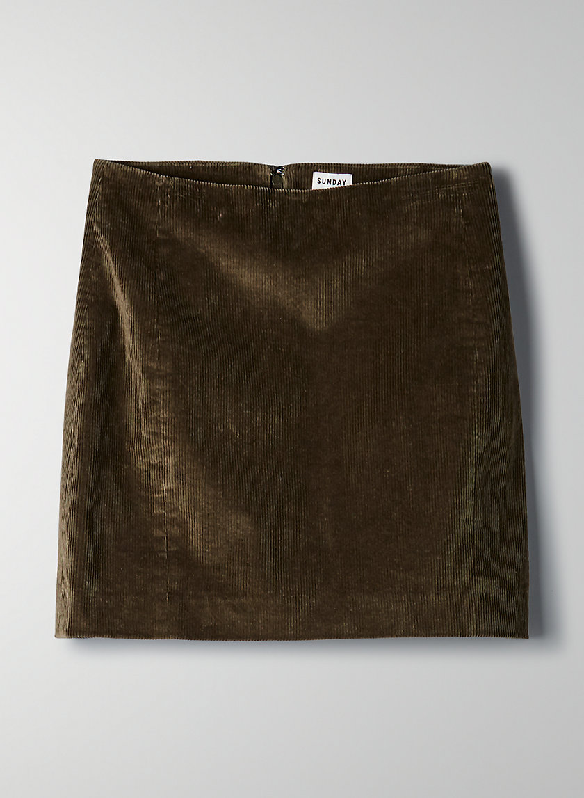 LYRA SKIRT - Corduroy mini skirt