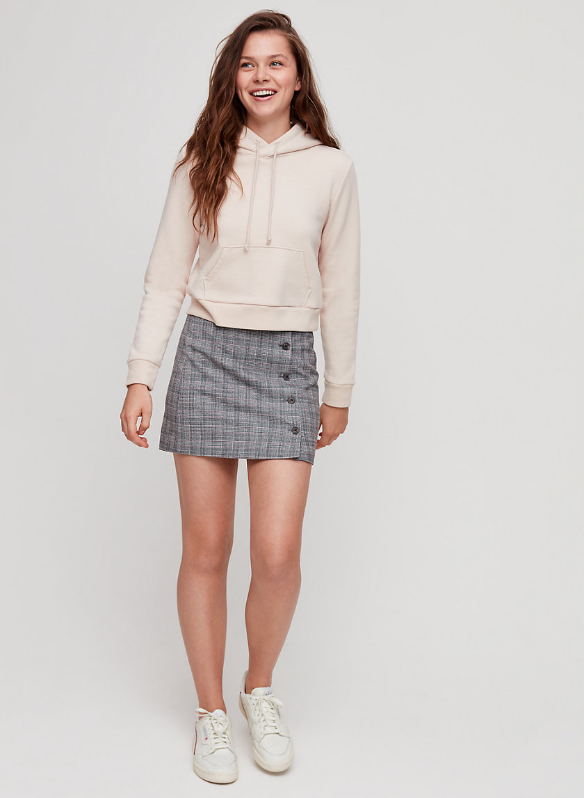 YURI SKIRT - A-line, plaid mini skirt