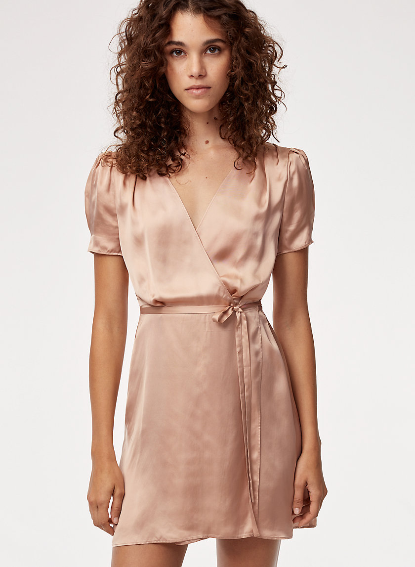 Talula WRAP MINI DRESS | Aritzia