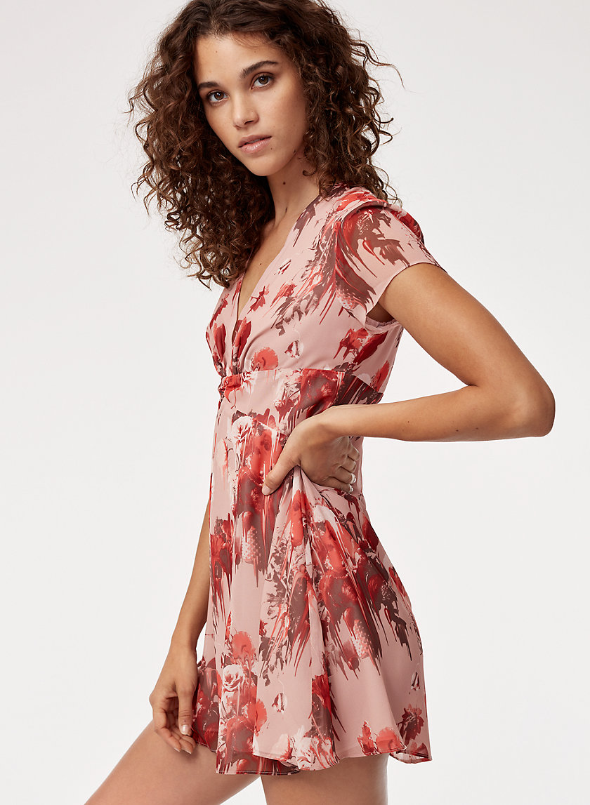 Talula DEEP V DRESS | Aritzia