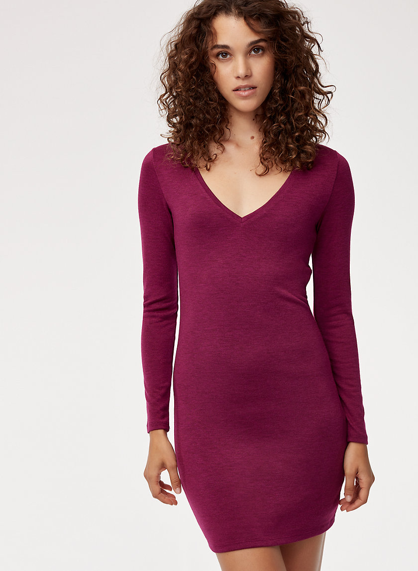 Talula V-NECK MINI DRESS | Aritzia
