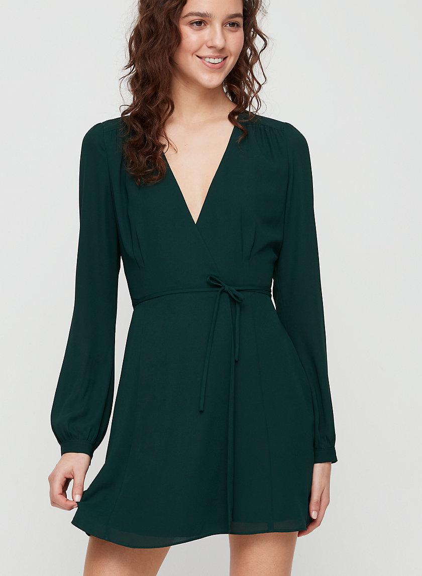 ALEXI DRESS - Long-sleeve wrap dress