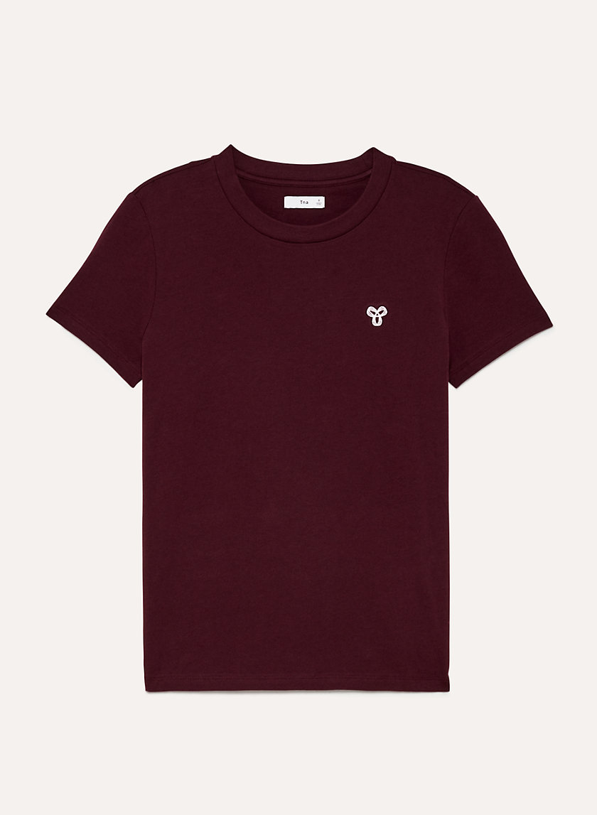 MAINLAND T-SHIRT - Embroidered crewneck t-shirt