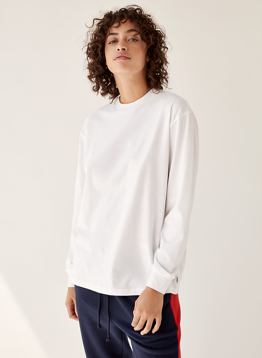 BOWER T-SHIRT - Long-sleeve, boyfriend t-shirt