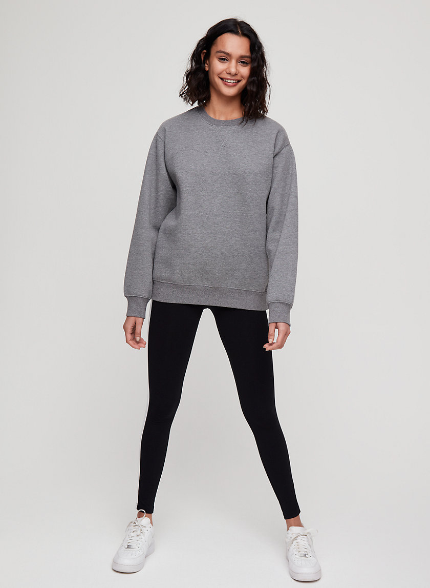 THE PERFECT CREW - Fleece crewneck sweatshirt