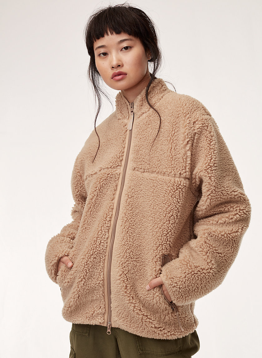 Tna SHERPA FLEECE JACKET | Aritzia