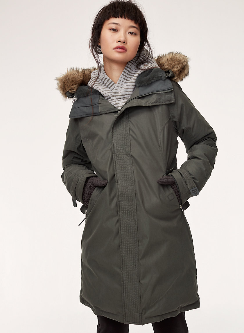 SUMMIT PARKA - Mid-length, goose-down parka