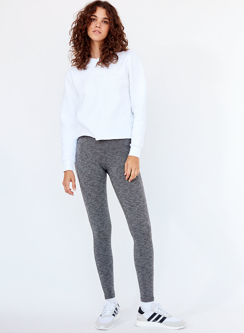 ATMOSPHERE PANT - Workout legging with side stripe