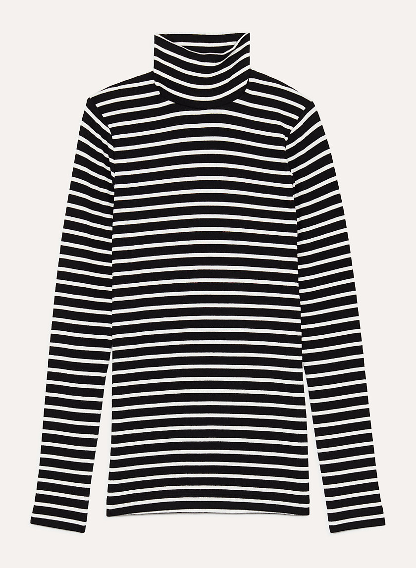 ONLY TURTLENECK - Ribbed turtleneck shirt