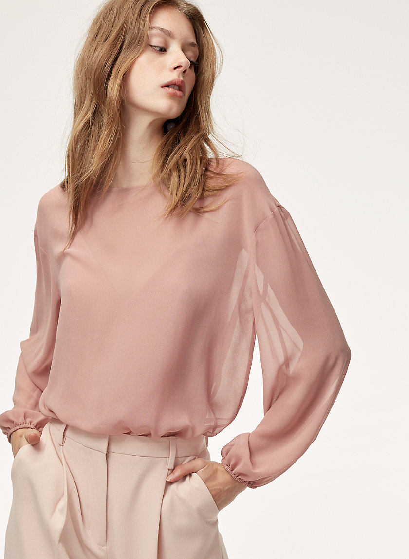 TALMONT BODYSUIT - Long-sleeve bodysuit blouse