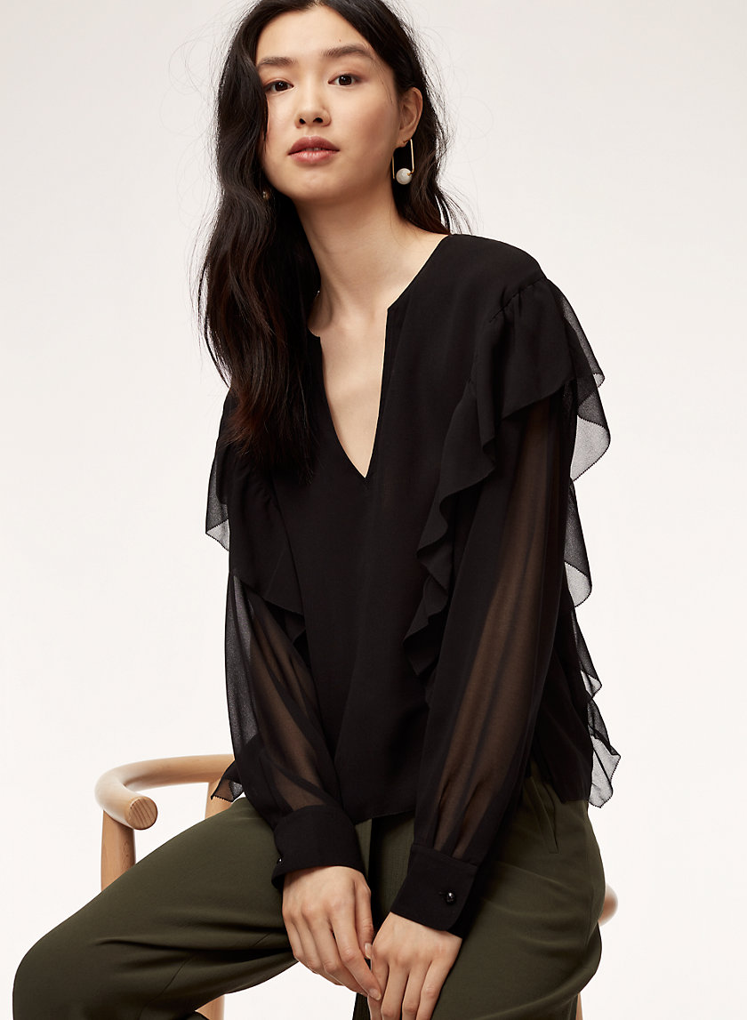Wilfred LILAS BLOUSE | Aritzia