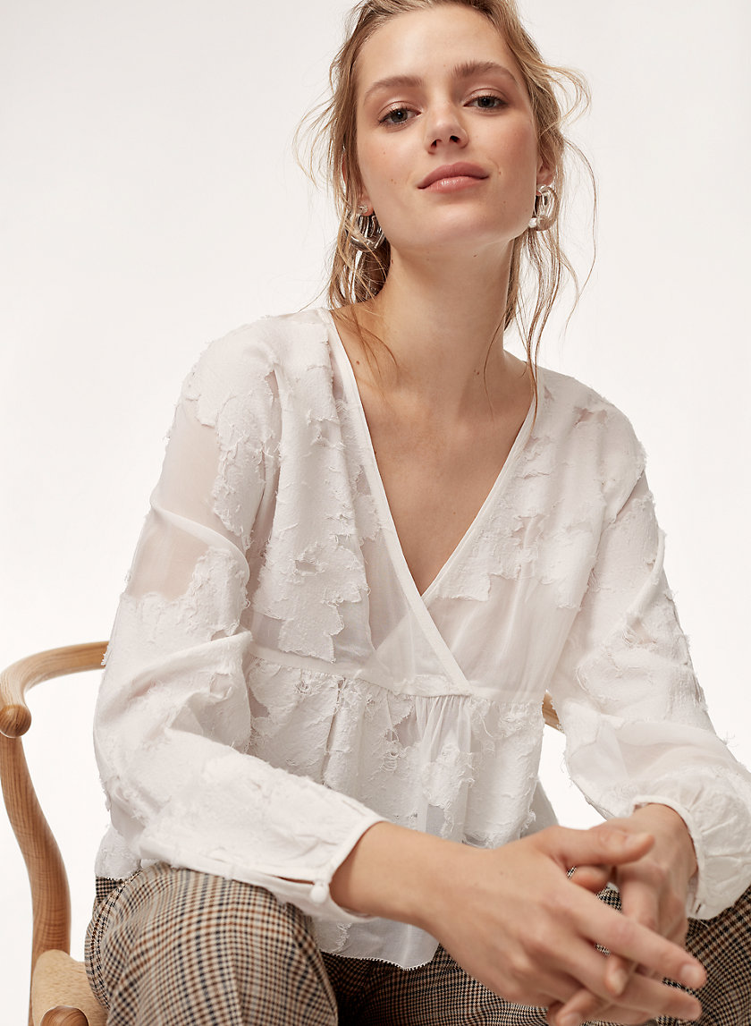 Wilfred AUGUSTINE BLOUSE | Aritzia