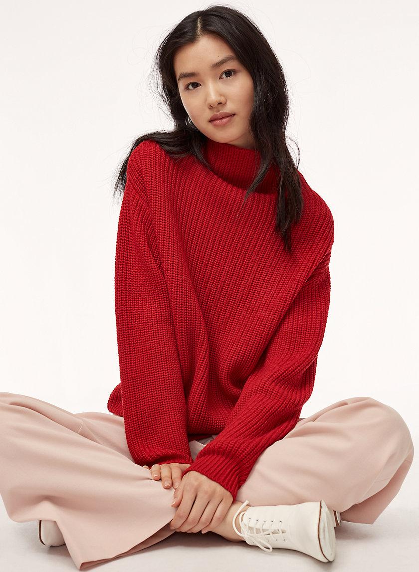 MONTPELLIER SWEATER - Merino-wool turtleneck sweater