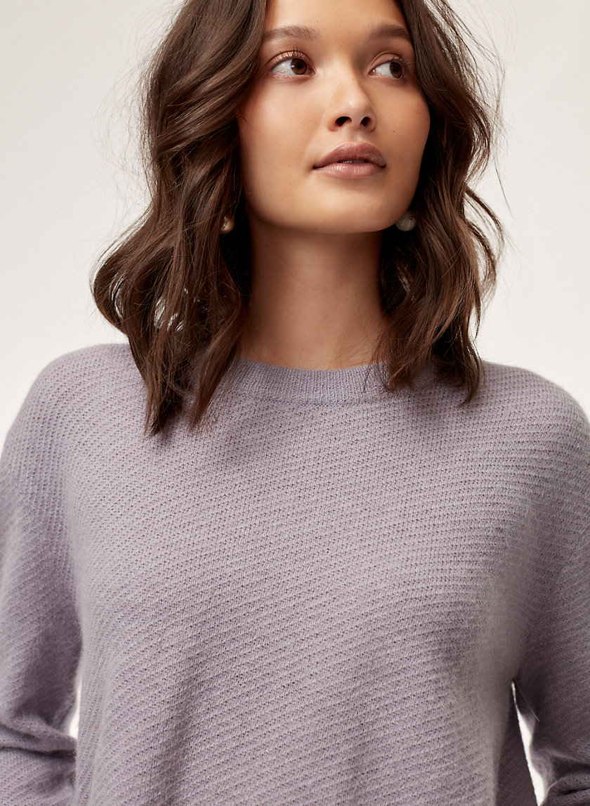 AUBRI SWEATER - Relaxed crewneck sweater