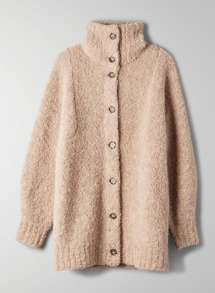 KARLIS CARDIGAN - Oversized, alpaca-blend cardigan
